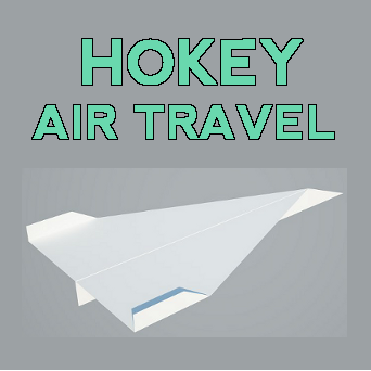 Hokey Air Travel Album Cover Front