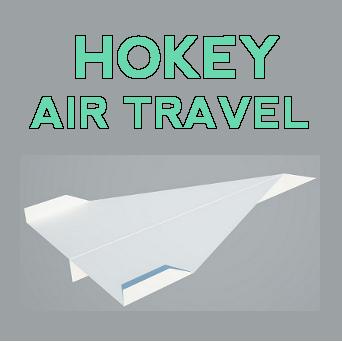 Hokey Air Travel Album Cover Front